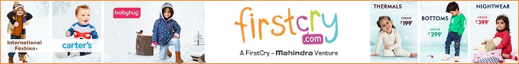 Shop your kids essentials at FirstCry